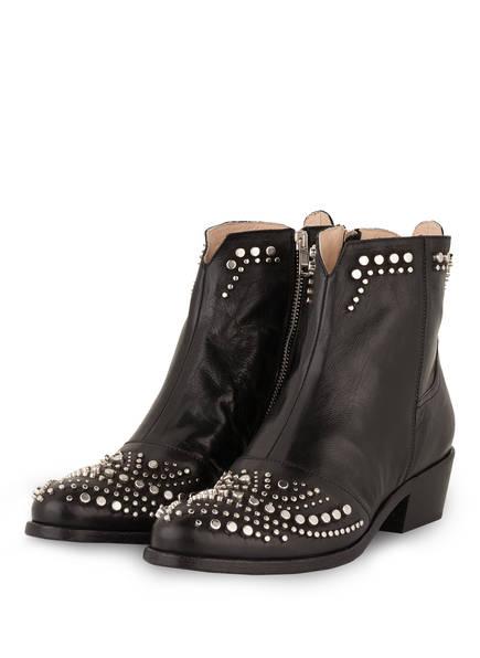 Fru.it Cowboy Boots mit Nietenbesatz, Farbe: SCHWARZ (Bild 1)