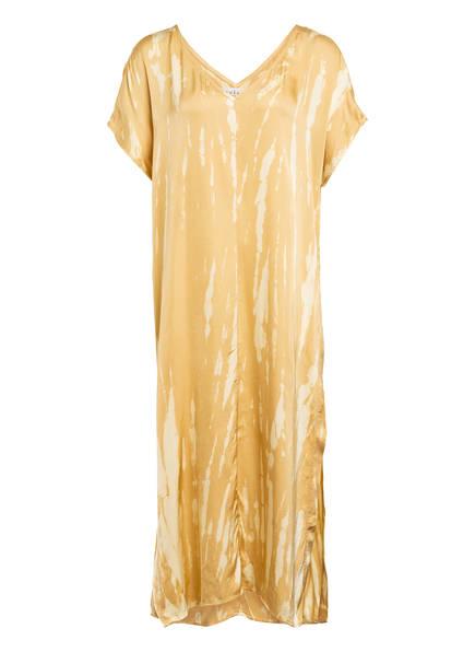 velvet Kleid VALERIE, Farbe: DUNKELGELB (Bild 1)