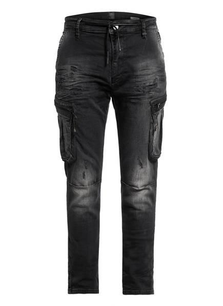 ER ELIAS RUMELIS Jeans CHRISTOPH CARGO Extra Slim Fit , Farbe: 0160 XXXX BLACK (Bild 1)