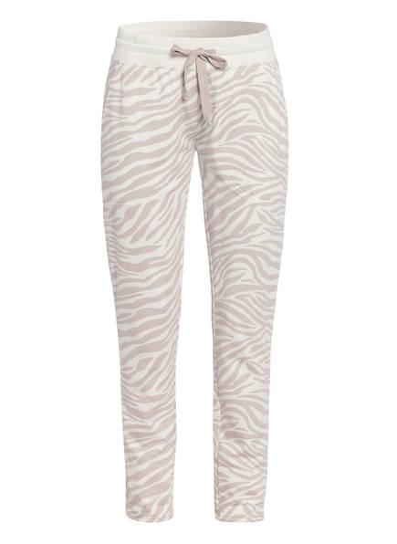 Juvia Sweatpants Loose Fit, Farbe: ECRU/ CREME (Bild 1)