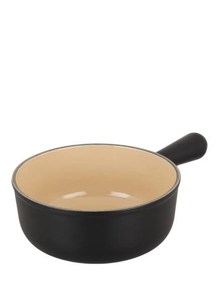 LE CREUSET Caquelon für Käsefondue, Farbe: SCHWARZ (Bild 1)