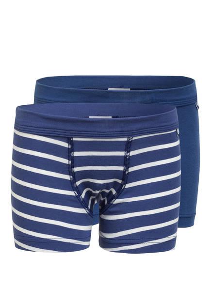 Sanetta 2er-Pack Boxershorts, Farbe: BLAU/ WEISS (Bild 1)