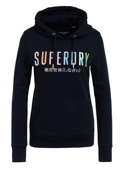 Superdry Hoodie RAINBOW, Farbe: DUNKELBLAU (Bild 1)