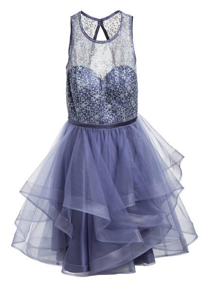 VM VERA MONT Kleid mit Tüll, Farbe: BLAUGRAU (Bild 1)