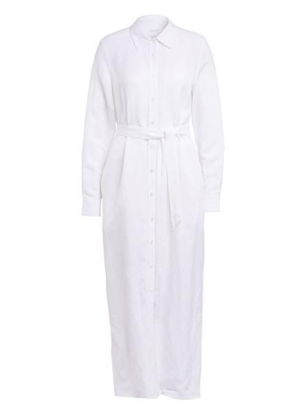 Jadicted Hemdblusenkleid mit Leinen , Farbe: WEISS (Bild 1)