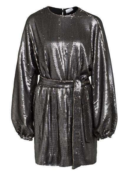 ANINE BING Kleid ANGIE mit Paillettenbesatz , Farbe: SILBER (Bild 1)