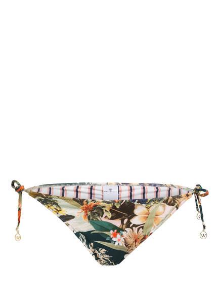 watercult Bikini-Hose HAWAII KITSCH , Farbe: GRÜN/ CREME/ ROT (Bild 1)
