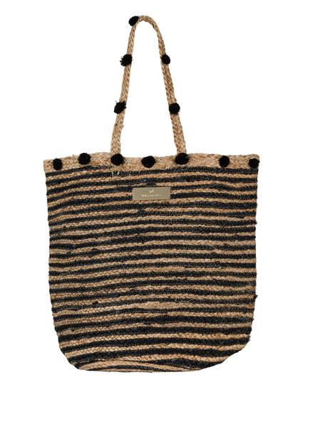 watercult Strandtasche , Farbe: BEIGE/ SCHWARZ (Bild 1)