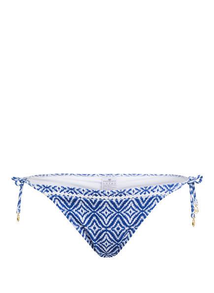 watercult Bikini-Hose INDIGO ESCAPE , Farbe: BLAU/ WEISS (Bild 1)