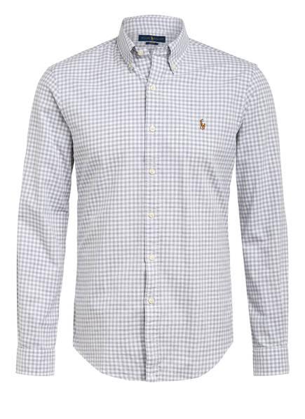 POLO RALPH LAUREN Oxfordhemd Slim Fit , Farbe: GRAU/ WEISS KARIERT (Bild 1)