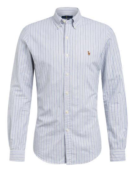 POLO RALPH LAUREN Oxfordhemd Slim Fit, Farbe: HELLGRAU/ WEISS (Bild 1)
