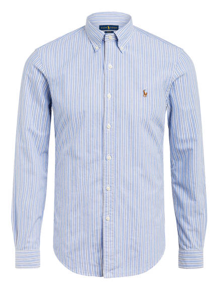 POLO RALPH LAUREN Oxfordhemd Slim Fit, Farbe: HELLBLAU/ WEISS (Bild 1)