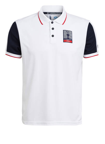 NORTH SAILS Piqué-Poloshirt AUKLAND Regular Fit, Farbe: WEISS (Bild 1)