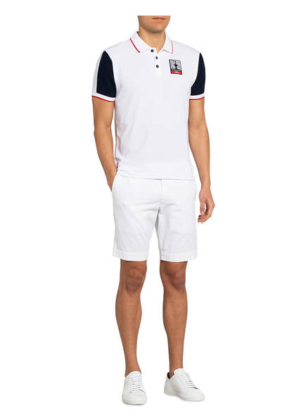 NORTH SAILS Piqué-Poloshirt AUKLAND Regular Fit WEISS - Herrenbekleidung Beliebt