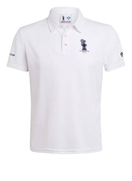 NORTH SAILS Piqué-Poloshirt Regular Fit, Farbe: WEISS (Bild 1)