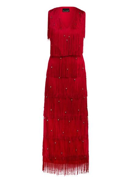 Phase Eight Kleid KANDICE mit Fransen , Farbe: DUNKELROT (Bild 1)