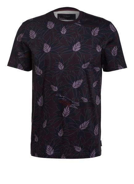 TED BAKER T-Shirt MULA, Farbe: DUNKELBLAU/ DUNKELLILA/ HELLLILA (Bild 1)