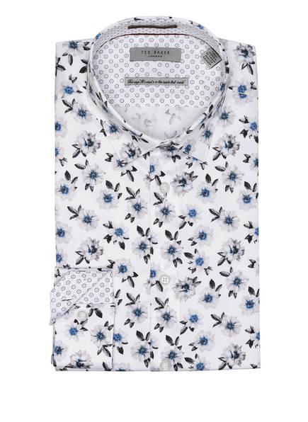 TED BAKER Hemd WEWILL Extra Slim Fit , Farbe: WEISS/ HELLGRAU/ SCHWARZ (Bild 1)