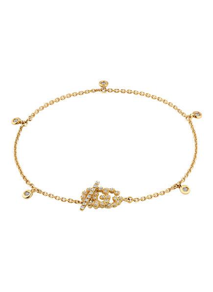 GUCCI Armband GG , Farbe: GOLD (Bild 1)