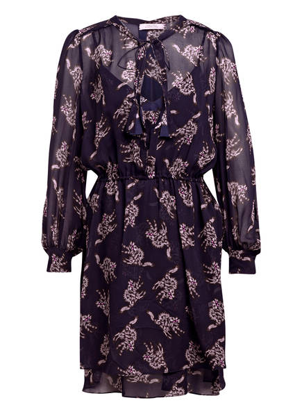 DOROTHEE SCHUMACHER Kleid DRAPY, Farbe: DUNKELBLAU/ GRAU (Bild 1)