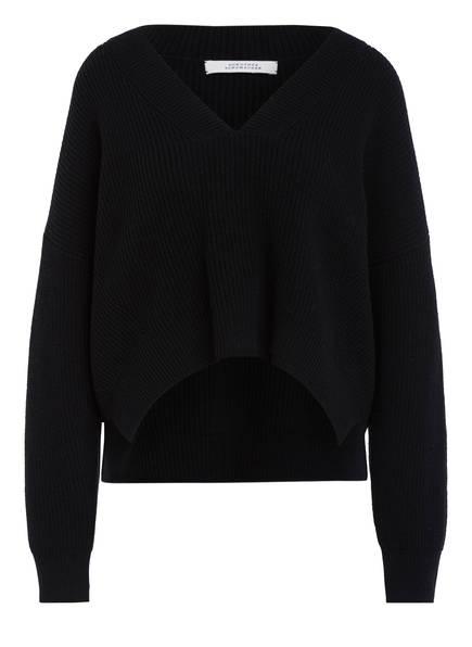 DOROTHEE SCHUMACHER Cropped-Pullover , Farbe: SCHWARZ (Bild 1)