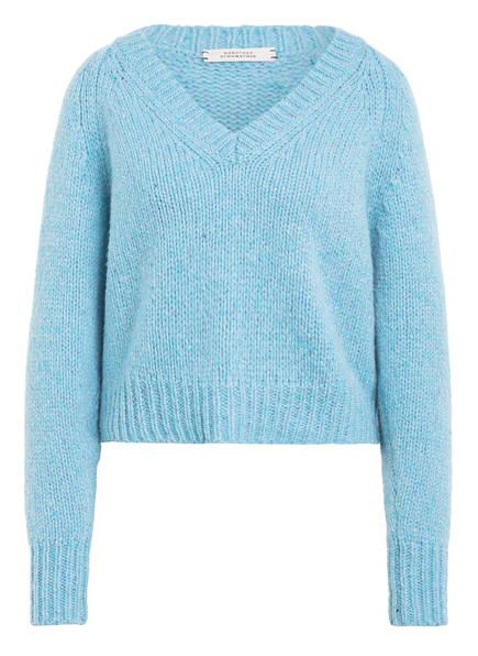 DOROTHEE SCHUMACHER Cashmere-Pullover, Farbe: HELLBLAU MELIERT (Bild 1)