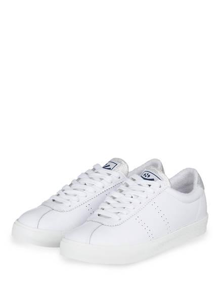 SUPERGA Sneaker COMFLEALAME, Farbe: S915 white-grey silver (Bild 1)