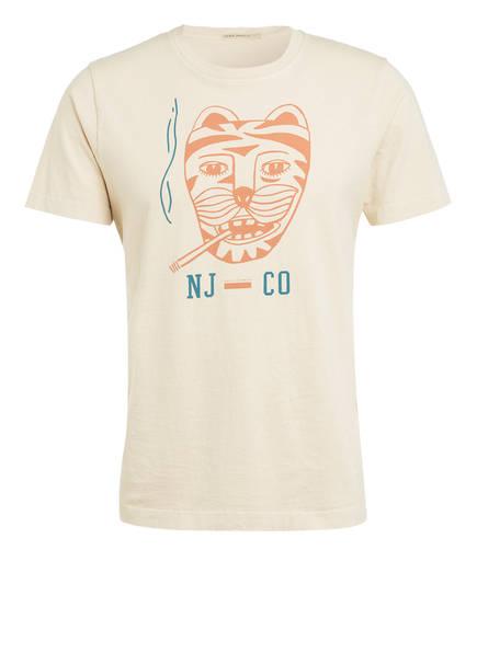 Nudie Jeans T-Shirt ROY, Farbe: BEIGE (Bild 1)
