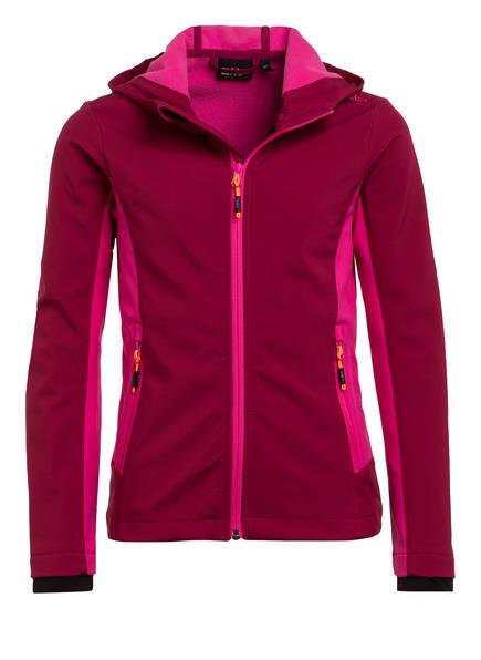CMP Softshell-Jacke, Farbe: PINK/ FUCHSIA (Bild 1)
