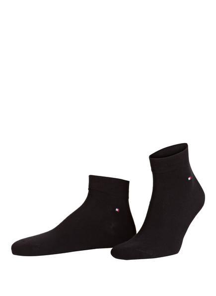 TOMMY HILFIGER 2er-Pack Sneakersocken, Farbe: 200 BLACK (Bild 1)