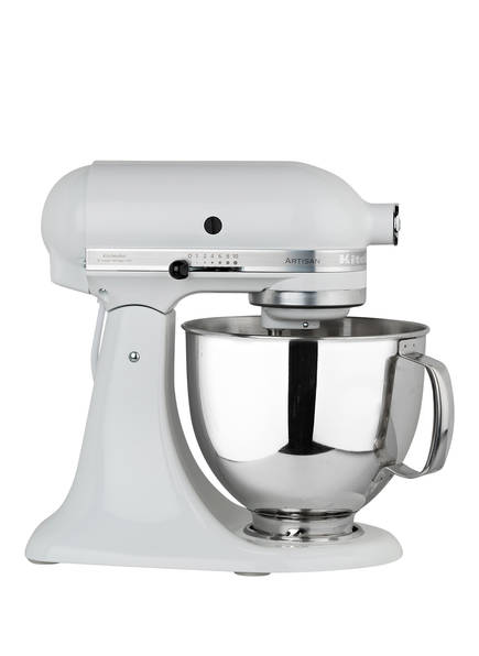 KitchenAid Küchenmaschine ARTISAN 4,8 l, Farbe: WEISS (Bild 1)