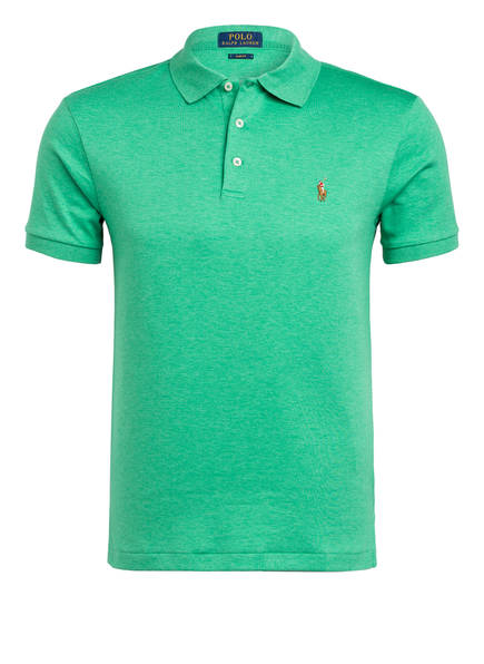 POLO RALPH LAUREN Poloshirt Slim Fit, Farbe: GRÜN (Bild 1)