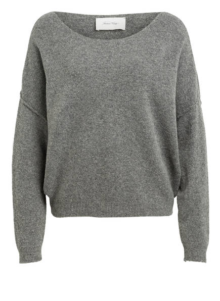 American Vintage Pullover DAMSVILLE, Farbe: GRAU (Bild 1)