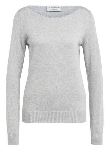REPEAT Pullover, Farbe: GRAU MELIERT (Bild 1)