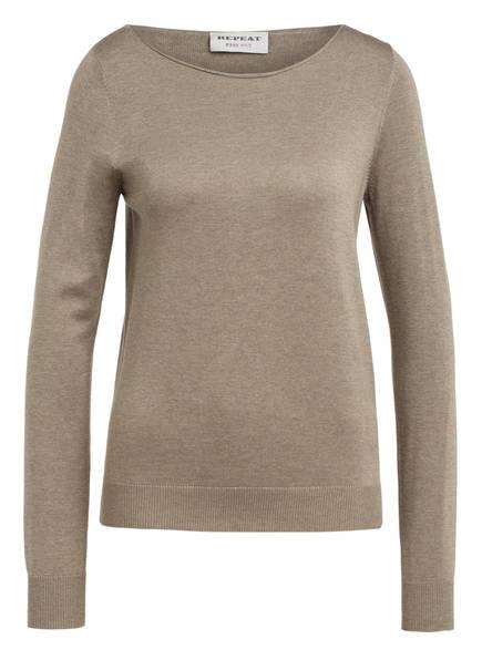 REPEAT Pullover, Farbe: KHAKI (Bild 1)