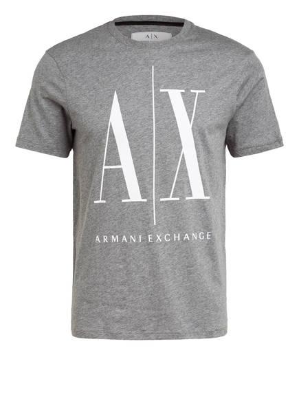 ARMANI EXCHANGE T-Shirt, Farbe: GRAU MELIERT (Bild 1)