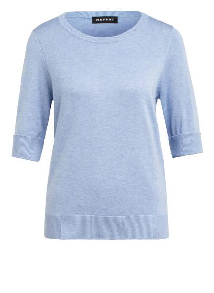 REPEAT Strickshirt, Farbe: HELLBLAU (Bild 1)