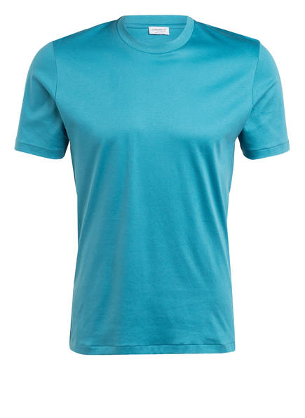 zimmerli Lounge-Shirt SEA ISLAND, Farbe: TÜRKIS (Bild 1)