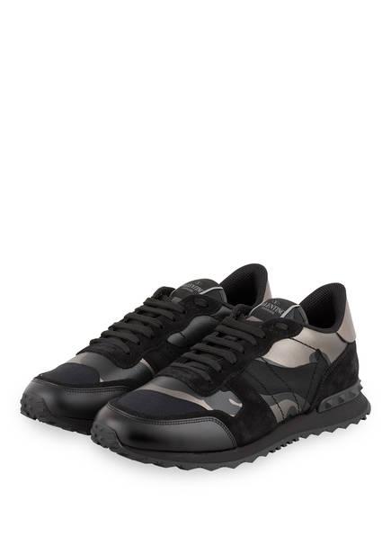 VALENTINO GARAVANI Sneaker ROCKRUNNER CAMOUFLAGE, Farbe: SCHWARZ/ BRONZE METALLIC (Bild 1)