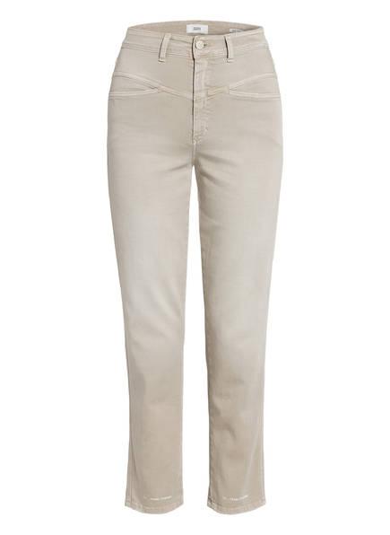 CLOSED Mom Jeans PEDAL PUSHER, Farbe: 290 LAMA LIGHT GREY (Bild 1)