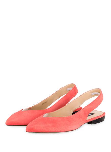 sergio rossi Sling-Ballerinas SR MILANO, Farbe: KORALLE (Bild 1)