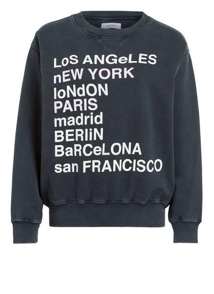 ANINE BING Oversized-Sweatshirt CITY LOVE , Farbe: DUNKELGRAU (Bild 1)