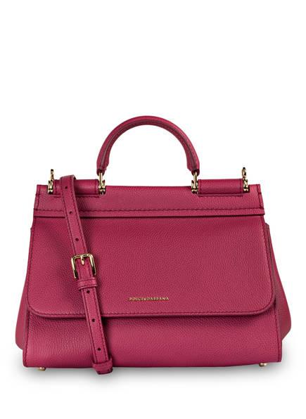 DOLCE&GABBANA Handtasche SICILY SOFT SMALL, Farbe: FUXIA (Bild 1)