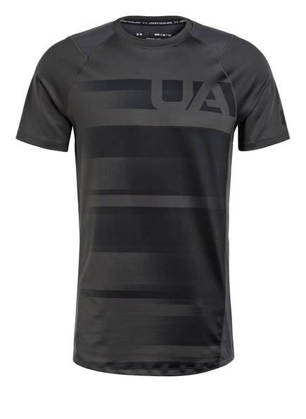 UNDER ARMOUR T-Shirt UA MK-1, Farbe: SCHWARZ/ GRAU (Bild 1)