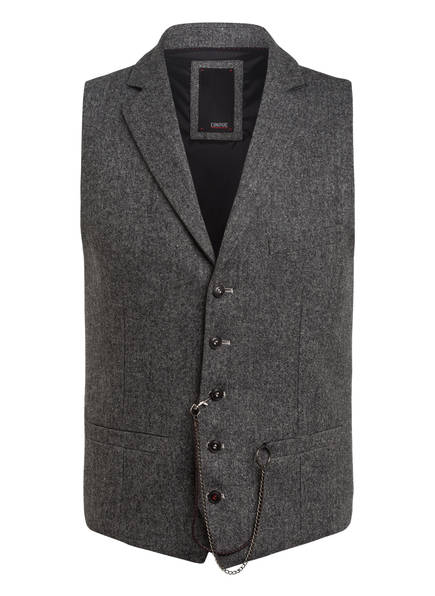 CINQUE Jacken & Blazer | Cinque Kombi-Weste Civiz Slim Fit grau
