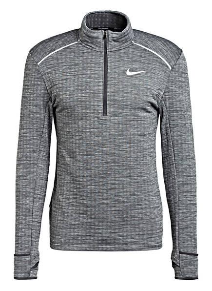 Nike Laufshirt THERMA SPHERE 3.0, Farbe: GRAU MELIERT (Bild 1)