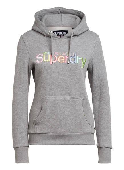 Superdry Hoodie, Farbe: HELLGRAU MELIERT (Bild 1)