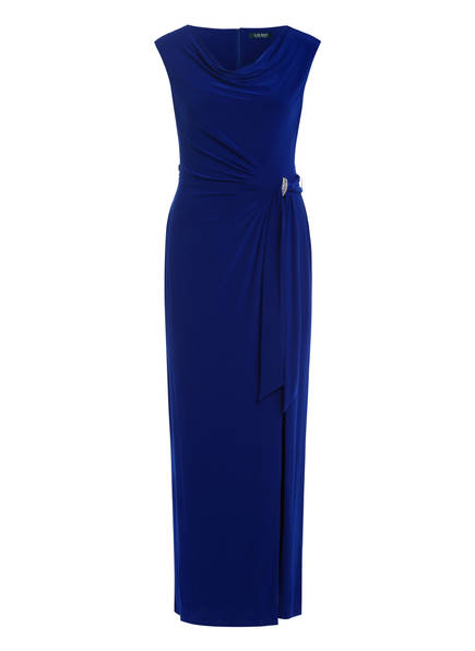 LAUREN RALPH LAUREN Abendkleid SHAYLA, Farbe: BLAU (Bild 1)