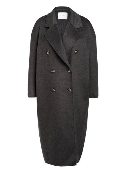 American Vintage Oversized-Mantel, Farbe: DUNKELGRAU (Bild 1)