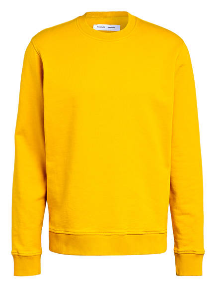 SAMSØE  SAMSØE Sweatshirt AVISO , Farbe: GELB (Bild 1)